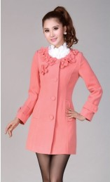 LONG COAT KOREA - JYB311102 Pink(1) -DETIL