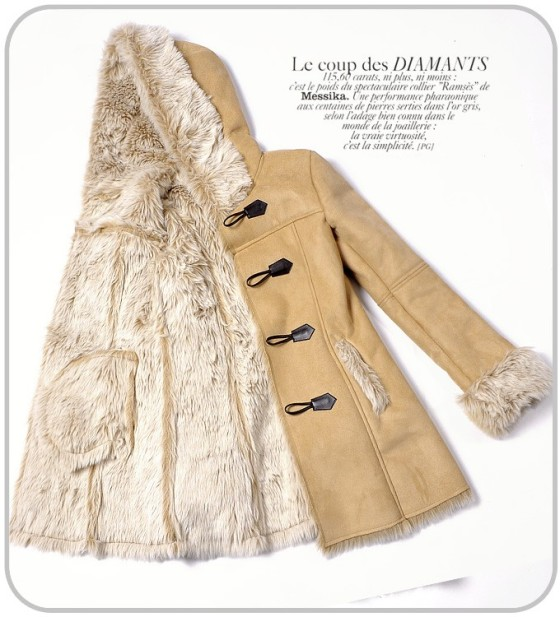 BAJU MUSIM DONGIN - LONG COAT KOREA - F309529(3)
