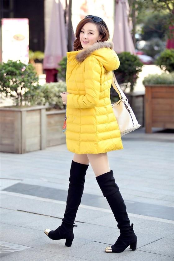 JAKET KOREA ONLINE  - JYW739 Yellow(2)