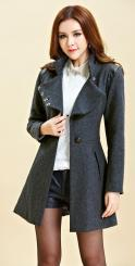 JAKET KOREA - LONG COAT WANITA KOREA - JYD8209