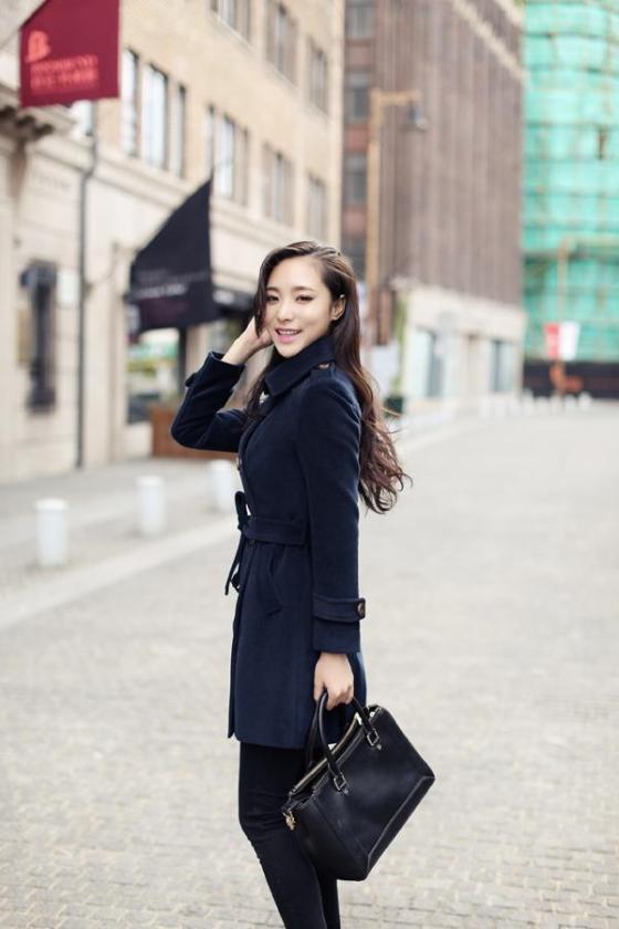 LONG COAT WANITA KOREA - JAKET WANITA KOREA - R67080