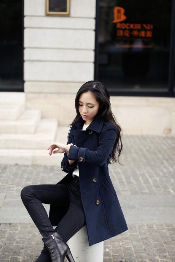 LONG COAT WANITA KOREA - JAKET WANITA KOREA - R67080(2)
