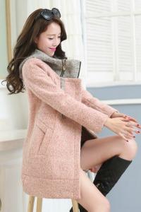 JYFA35-6698 Pink COAT KOREA ONLINE - JAKET MUSIM DINGIN BIG SIZE-3663-56398cf5c466a