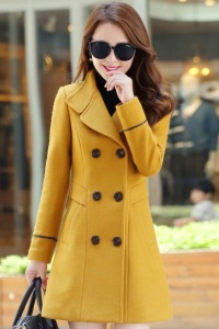 JYY439-6262-Yellow-LONG-COAT-KOREA-JAKET-MUSIM-DINGIN-WANITA-KOREA