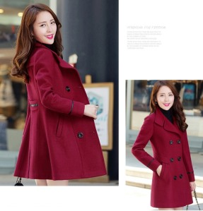 LONG-COAT-KOREA-JAKET-MUSIM-DINGIN-WANITA-KOREA-JYY439-6262-Red