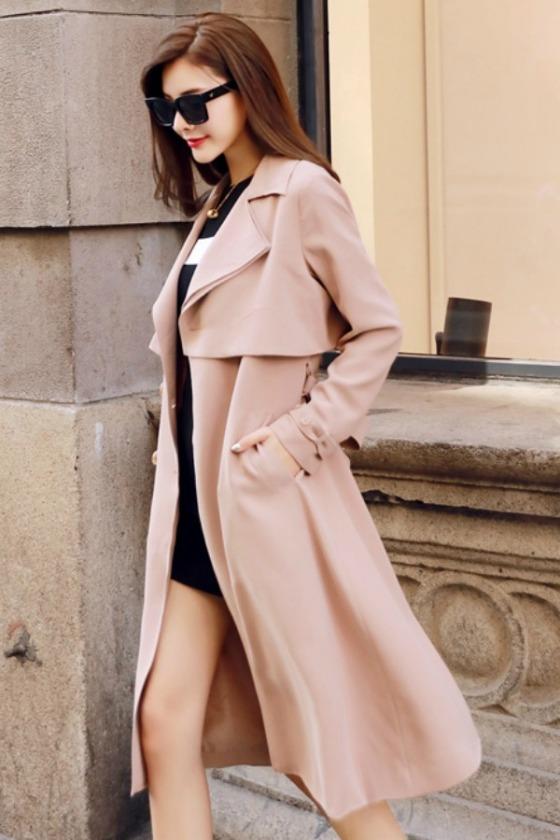 r67246-lighttan-blazer-import-wanita-long-coat-korea-style